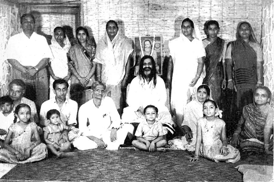 Girish Ji's family in Rishikesh In 1965 summer Girish Ji's family has visited Rishikesh to meet His Holiness Maharishi Mahesh Yogi Ji. Maharishi Ji was very happy to see Girish Ji and asked his father to leave Girish with him. Naturally Girish Ji Girish Ji's father and family did not agree because he was very young.