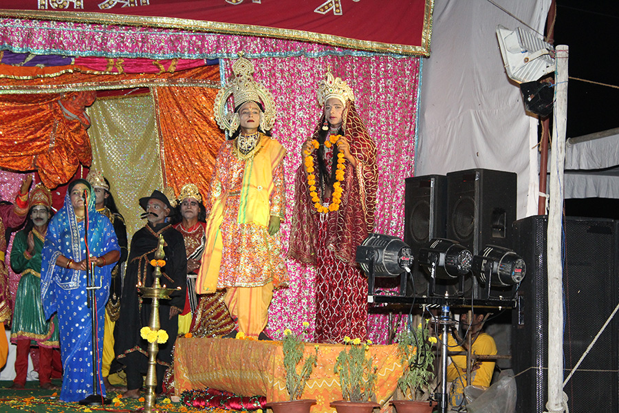 Shri Raam Leela is organised at Maharishi Ved Vigyan Vishwa Vidyapeetham campus, Village Deepdi, Bhojpur Temple Road, Bhopal